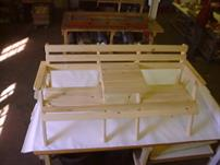 2 seater table bench (1)